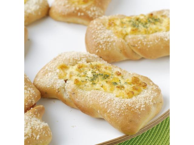 蒜味玉米培根香料麵包