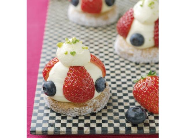 新鮮草莓塔
