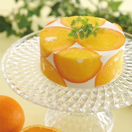 橙香優格慕斯