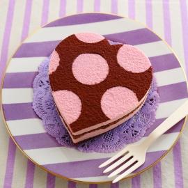 愛心點點巧克力蛋糕